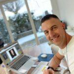 Tobias Heilmann bei der Arbeit für campaignfit